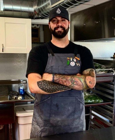 Head Chef Chef Corbin: the mastermind behind 314's delicious flavor and the creator of the menu at 314.